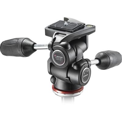 Image of Manfrotto MH804-3W 3-Way Head w/ Quick Release Plate