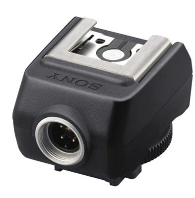 Image of Sony FA-CS1M Off-Camera Shoe for External Flash w/ Multi-Interface Shoe (Black)