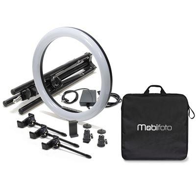 """Image of Mobifoto Mobilite Pro 18 Ring Light 18"""" Bi-Colour LED"""
