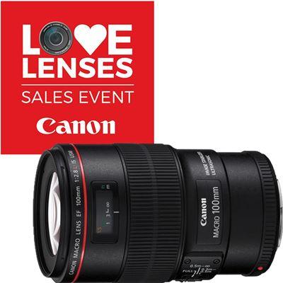 Image of Canon EF 100mm F2.8L Macro IS USM + BONUS