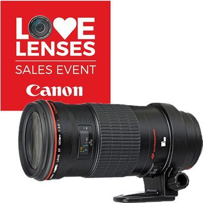 Image of Canon EF 180mm F3.5L Macro USM