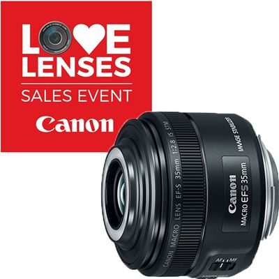 Image of Canon EF-S 35mm F2.8 Macro IS STM Lens
