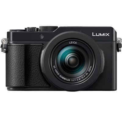 Image of Panasonic Lumix DC-LX100 II Digital Camera (Black) + Bonus