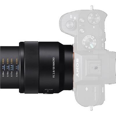 Image of Sony FE 50mm F2.8 Macro Lens (SEL50M28)