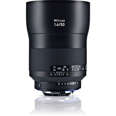 Image of Zeiss Milvus 50mm F1.4 ZF.2 Lens (for Nikon F)
