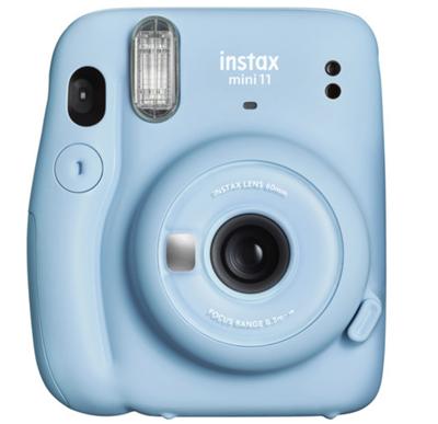 Image of FUJIFILM INSTAX Mini 11 Instant Film Camera (Sky Blue)
