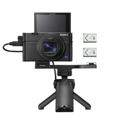 Image of Sony Cyber-shot DSC-RX100 VII Digital Camera w/ Shooting Grip Kit