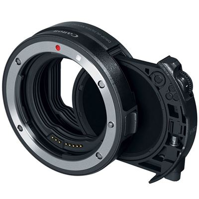 Image of Canon Drop-In Filter Mount Adapter EF-EOS R w/ Variable ND Filter