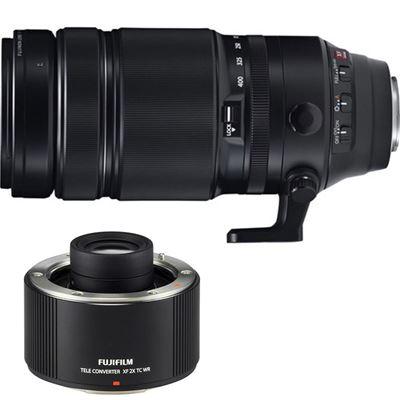 Compare Prices Of  Fujifilm Fujinon XF 100-400mm F4.5-5.6 R LM OIS WR w/ XF 2.0x Teleconverter Combo