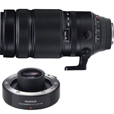 Image of Fujifilm Fujinon XF 100-400mm F4.5-5.6 R LM OIS WR w/ XF 1.4x Teleconverter Combo