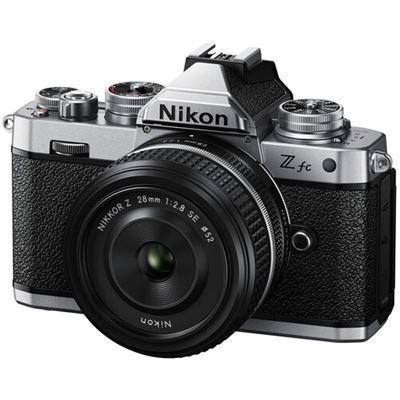 Image of Nikon Z fc Mirrorless Digital Camera w/ 28mm Lens