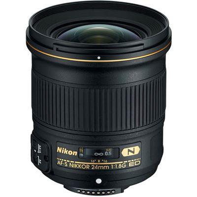 Image of Nikkor AF-S 24mm F1.8G ED Lens with Bonus