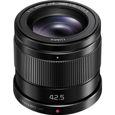 Compare Prices Of  Panasonic G 42.5mm F1.7 ASPH. POWER O.I.S. Lens (Micro Fourth Thirds Mount)