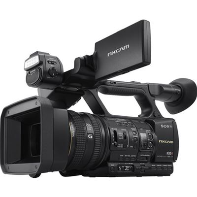Image of Sony HXR-NX5R NXCAM Camcorder w/ LED Light