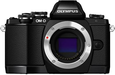 Image of Olympus OM-D E-M10 Body (Black)(Micro Four Thirds Mount)
