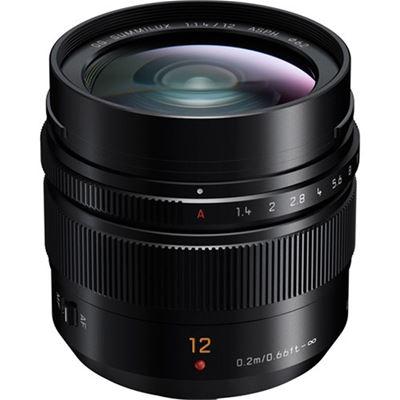 Image of Panasonic Leica DG Summilux 12mm F1.4 ASPH. Lens