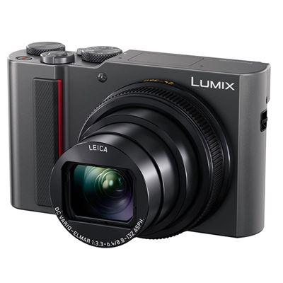 Image of Panasonic Lumix DC-ZS200 Digital Camera (Silver)