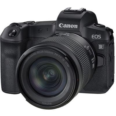 Compare Prices Of  Canon EOS R Mirrorless Digital Camera w/ 24-105mm F4-7.1 Lens + Bonus