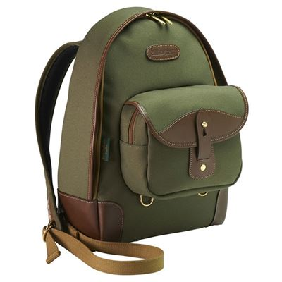 Compare Prices Of  Billingham Rucksack 35 (Sage FibreNyte/Chocolate Leather)