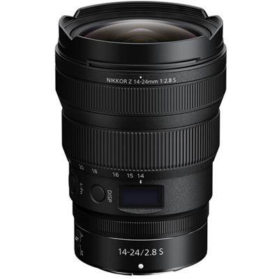 Image of Nikon NIKKOR Z 14-24mm F2.8 S Lens + Bundle 112mm filter
