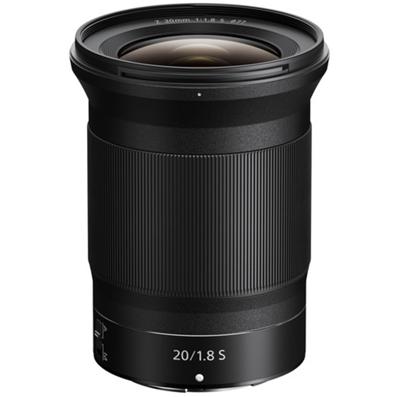 Image of Nikon NIKKOR Z 20mm F1.8 S Lens + Bonus Item