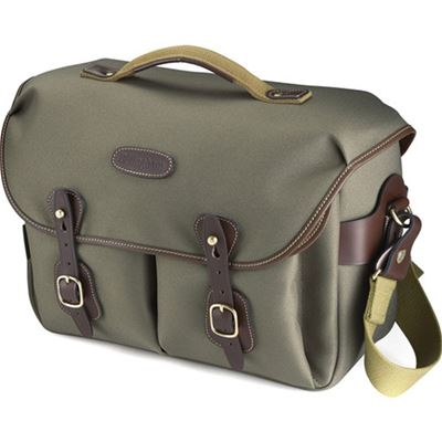 Image of Billingham Hadley One (Sage FibreNyte w/ Chocolate Leather)