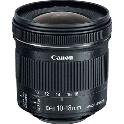 Image of Canon EF-S 10-18mm F4.5-5.6 IS STM