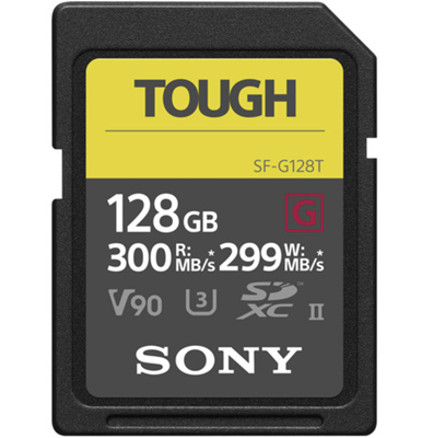 Compare Prices Of  Sony 128GB SF-G Tough Series UHS-II SDXC Memory Card