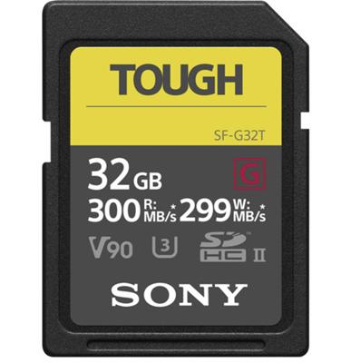 Image of Sony 32GB SF-G Tough Series UHS-II SDXC Memory Card