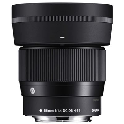 Image of Sigma 56mm F1.4 DC DN Contemporary Lens (Canon EFM mount)