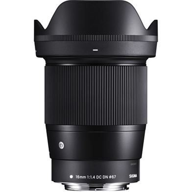Image of Sigma 16mm F1.4 DC DN Contemporary Lens (for Canon EF-M)