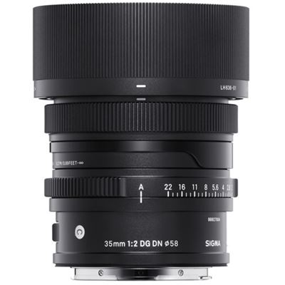 Image of Sigma 35mm F2 DG DN Contemporary Lens (Sony FE mount)