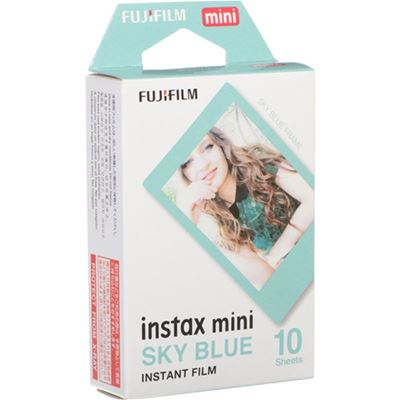 Compare Prices Of  FUJIFILM INSTAX Mini Sky Blue Instant Film (10 Exposures)