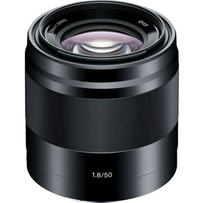 Compare Prices Of  Sony SEL 50mm F1.8 OSS E-mount Lens (Black) (SEL50F18/B)
