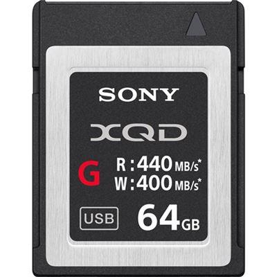 Image of Sony 64GB XQD G Series Memory Card