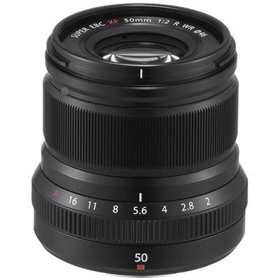 Image of Fujifilm Fujinon XF 50mm F2 R WR Lens (Black) + Bonus