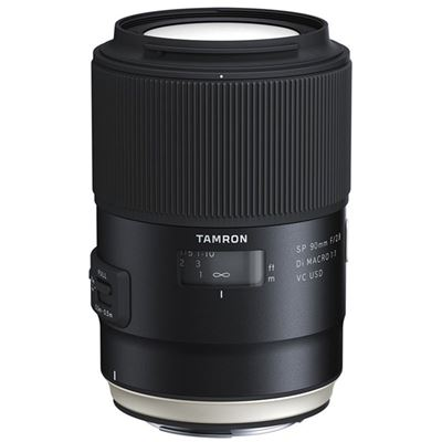 Image of Tamron SP 90mm F2.8 Di Macro 1:1 VC USD Lens (Canon mount)(Model F017)