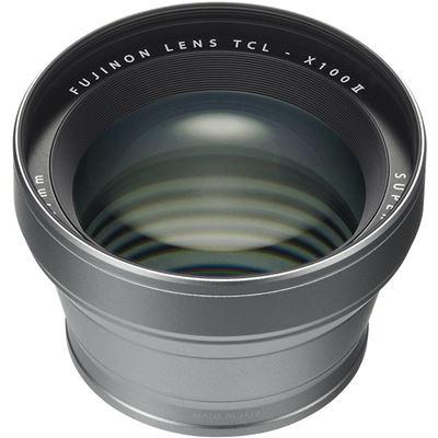 Image of Fujifilm TCL-X100 II Tele Conversion Lens (Silver)