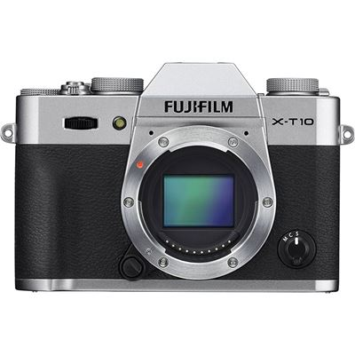 Image of Fujifilm X-T10 (Silver, Body Only)