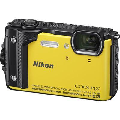 Image of Nikon COOLPIX W300 Digital Camera (Yellow)