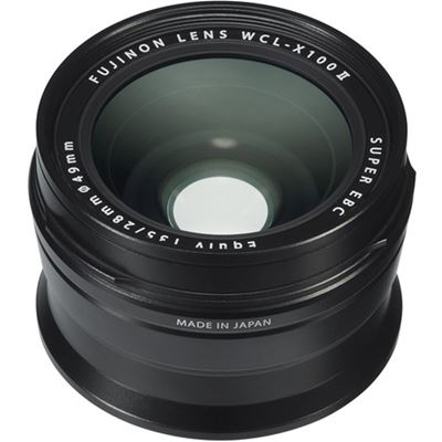 Image of Fujifilm WCL-X100 II Wide Conversion Lens (Black)