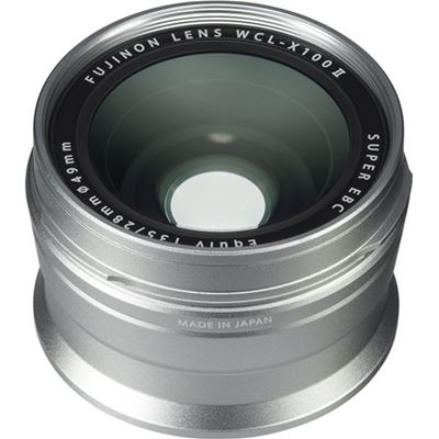 Image of Fujifilm WCL-X100 II Wide Conversion Lens (Silver)