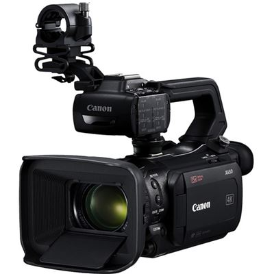 Image of Canon XA50 UHD 4K30 Camcorder w/ Dual-Pixel Autofocus
