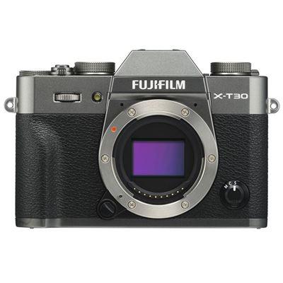 Image of FUJIFILM X-T30 Mirrorless Camera (Body Only, Charcoal Silver) + (**BONUS**)