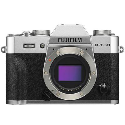 Image of FUJIFILM X-T30 Mirrorless Camera (Body Only, Silver) + (**BONUS**)