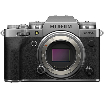 Image of Fujifilm X-T4 Mirrorless Camera (Body, Silver) + BONUS