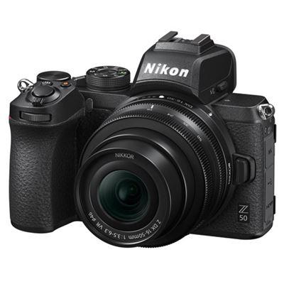 Image of Nikon Z 50 Mirrorless Digital Camera w/ 16-50mm Lens + FTZ Adapter + BONUS