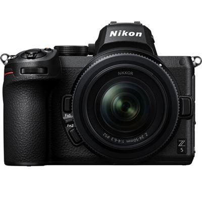 Compare Prices Of  Nikon Z 5 Mirrorless Camera w/ 24-50mm Lens + BONUS