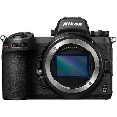 Image of Nikon Z 6II Mirrorless Digital Camera (Body Only) + FTZ Adapter + Bonus Items