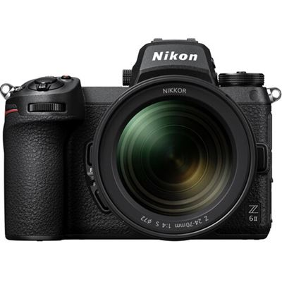 Image of Nikon Z 6II Mirrorless Digital Camera w/ 24-70mm F4 Lens + Bonus Items